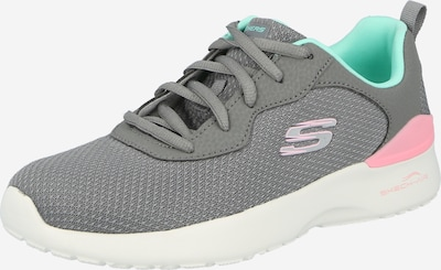 SKECHERS Sneaker in rauchgrau / jade / hellpink, Produktansicht