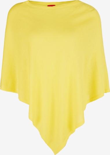 s.Oliver Poncho in gelb, Produktansicht
