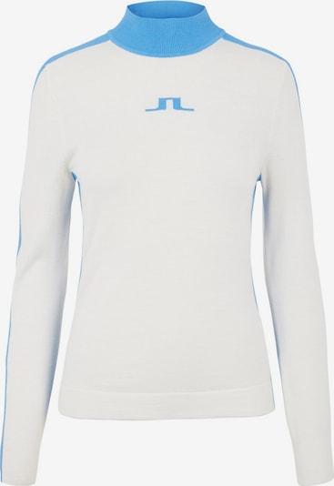 J.Lindeberg Pullover in blau / weiß, Produktansicht