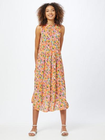 Trendyol Kleid in türkis / grün / lila / orange / weiß, Modelansicht