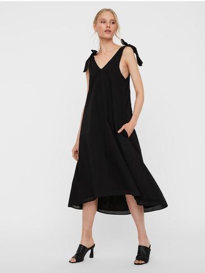 Vero Moda Tall Kleid 'KARLA' in schwarz, Modelansicht