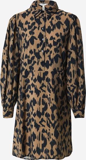OBJECT Košulja haljina 'Marcela' u smeđa / crna, Pregled proizvoda