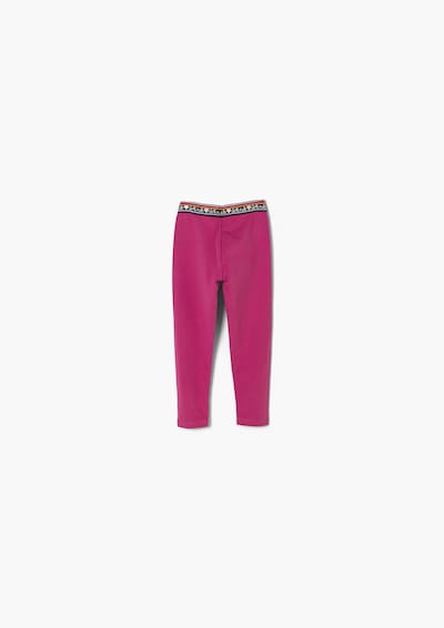 s.Oliver Leggings in dunkelpink, Produktansicht