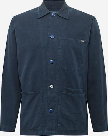 Polo Ralph Lauren Button Up Shirt in Blue