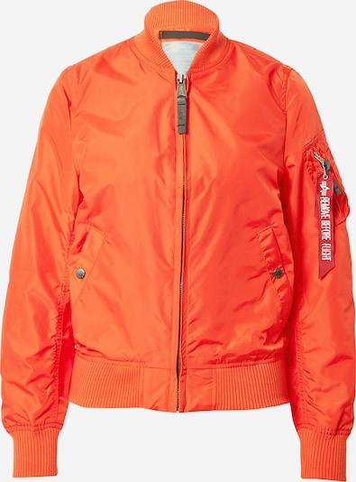 Giacca di mezza stagione ALPHA INDUSTRIES di colore rosso arancione, Visualizzazione prodotti