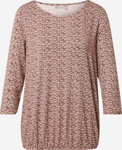 Fransa Shirt in de kleur Chamois / Bruin / Wit, Productweergave