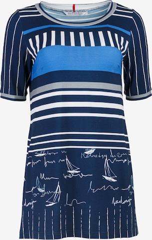 HELMIDGE Bluse in Blau