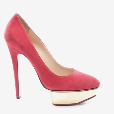 Charlotte Olympia Pumps in 39,5 in rot, Produktansicht