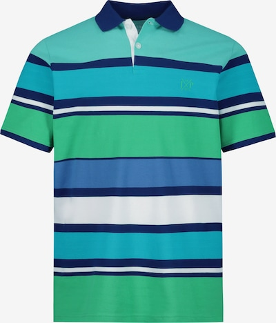 JP1880 Shirt in de kleur Turquoise / Aqua / Grasgroen, Productweergave