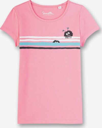 Sanetta Kidswear T-Shirt für Mädchen, Organic Cotton in pink, Produktansicht