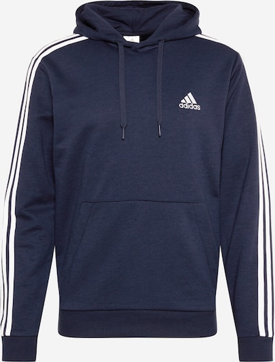 ADIDAS PERFORMANCE Sport sweatshirt i marinblå / vit, Produktvy