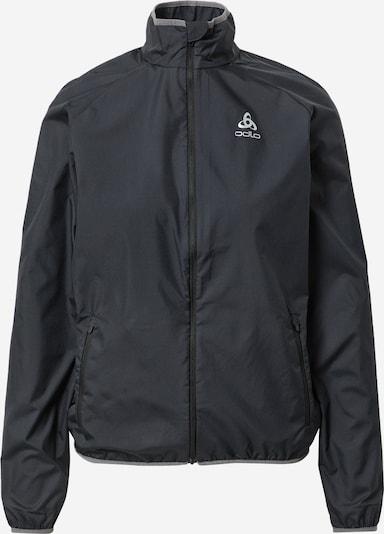 ODLO Chaqueta deportiva en gris / negro, Vista del producto