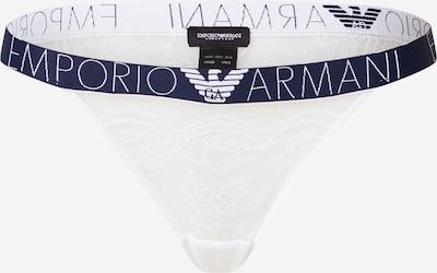 Emporio Armani Slip in dunkelblau / weiß, Produktansicht