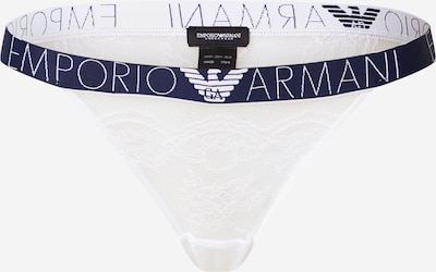 Emporio Armani Slip in Dark blue / White, Item view