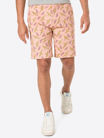 SCOTCH & SODA Chino nohavice 'STUART' - tmavožltá / zelená / malinová / svetločervená, Model/-ka