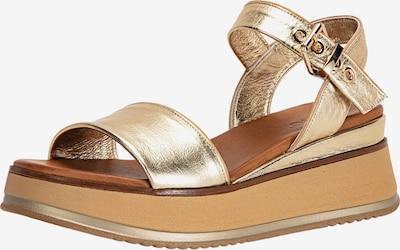 INUOVO Sandale in goldgelb, Produktansicht