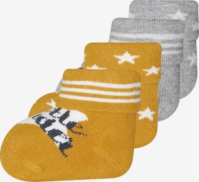 EWERS Čarape u žuta / siva, Pregled proizvoda