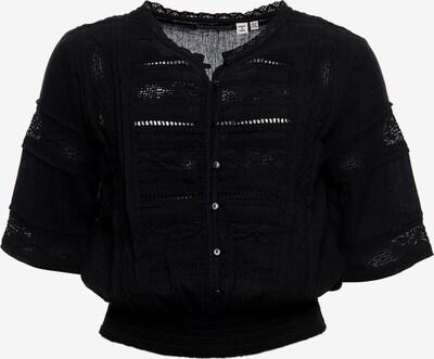 Superdry Bluse 'Ellison' in schwarz, Produktansicht