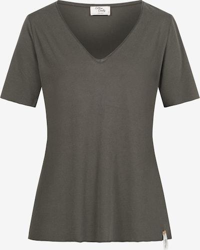 Cotton Candy T-Shirt 'NIVIA' in oliv, Produktansicht