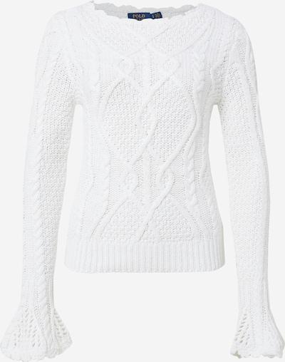 POLO RALPH LAUREN Pulover | naravno bela barva, Prikaz izdelka