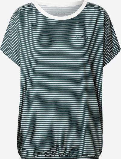mazine T-shirt 'Wylie' en sapin / blanc, Vue avec produit