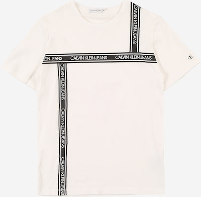 Calvin Klein Jeans Shirt in schwarz / weiß, Produktansicht