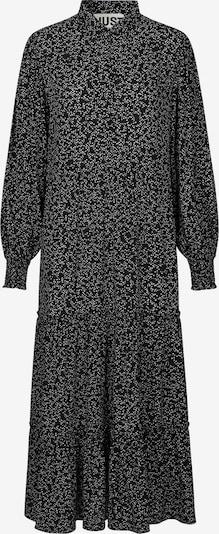 JUST FEMALE Košulja haljina 'Colombo' u crna / bijela, Pregled proizvoda