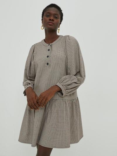 EDITED Kleid 'Freya' in blau / mischfarben / rot, Modelansicht