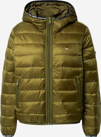 Veste d'hiver Tommy Jeans en vert