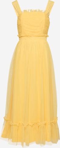 Robe de cocktail 'ANAYA' Maya Deluxe en jaune