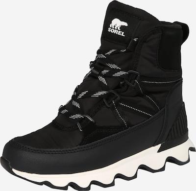 Sniego batai 'Kinetic' iš SOREL , spalva - juoda / balta, Prekių apžvalga