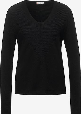 STREET ONE Sweater in Black