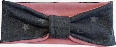 MAXIMO Bonnet en gris argenté / gris foncé / rose, Vue avec produit