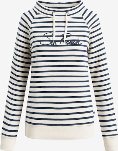 Sea Ranch Sweatshirt 'Filuca' in creme / marine, Produktansicht