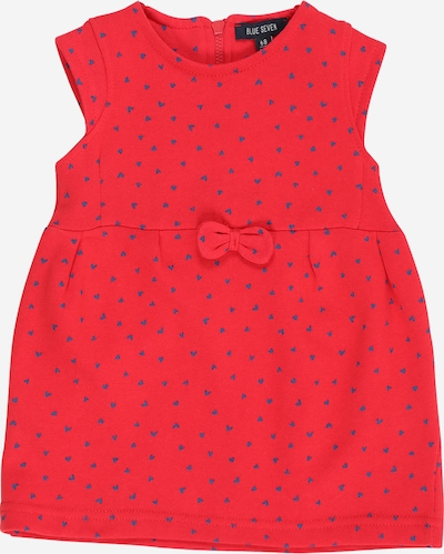 BLUE SEVEN Kleid in blau / rot, Produktansicht