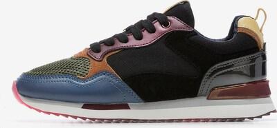 HOFF Sneaker 'CHICAGO' in blau / oliv / rosé / schwarz, Produktansicht