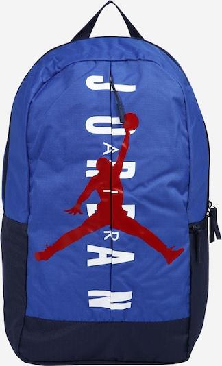 Jordan Rucksack 'SPLIT' in nachtblau / royalblau / rot / weiß, Produktansicht