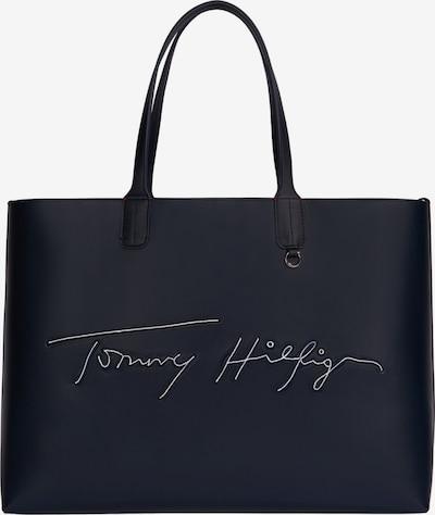 TOMMY HILFIGER Shopper in nachtblau / hellrot / weiß, Produktansicht