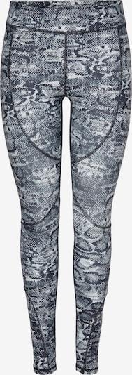 ONLY PLAY Pantalon de sport 'MAJVI' en gris / gris foncé / blanc, Vue avec produit