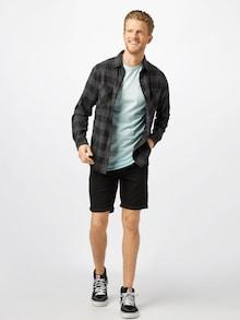 Pánské džínové šortky Only & Sons v černé barvě
