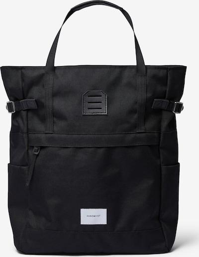 SANDQVIST Rucksack 'ROGER' in schwarz, Produktansicht