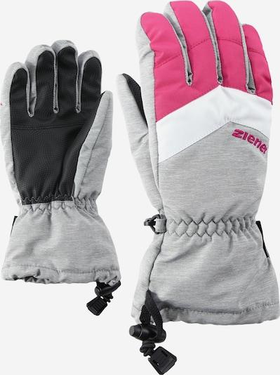ZIENER Skihandschuhe 'LETT AS(R)' in grau, Produktansicht
