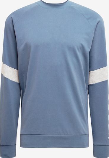 Sportinio tipo megztinis 'CONNOR' iš Hummel, spalva – mėlyna dūmų spalva / šviesiai pilka / balta, Prekių apžvalga