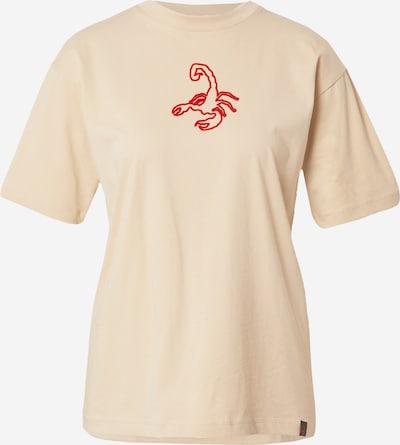VIERVIER T-shirt 'Sila' en beige, Vue avec produit