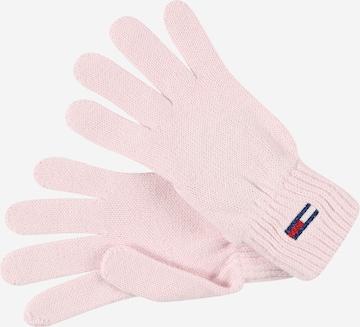 Tommy Jeans Sõrmikud, värv roosa