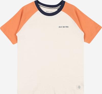 Marc O'Polo Junior Majica u mornarsko plava / marelica / bijela, Pregled proizvoda