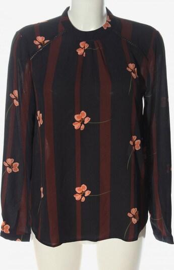 Pigalle Langarm-Bluse in S in braun / schwarz, Produktansicht