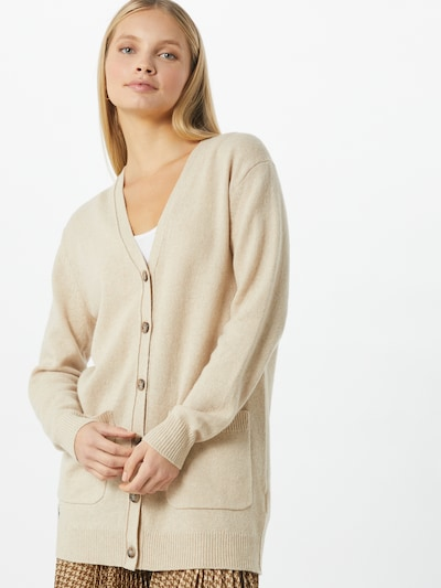 POLO RALPH LAUREN Strickjacke in beige, Modelansicht