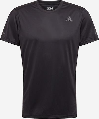 ADIDAS PERFORMANCE Camiseta funcional 'RUN IT' en gris / negro, Vista del producto