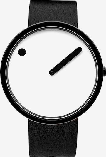 Picto Uhr in schwarz / weiß, Produktansicht
